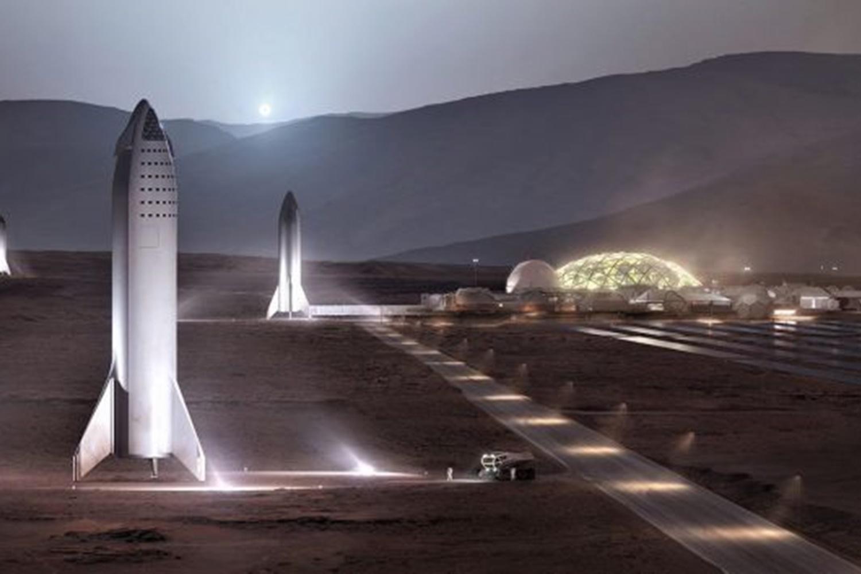 Imagem de Elon Musk diz que base humana em Marte pode ser inaugurada em 2028 no tecmundo