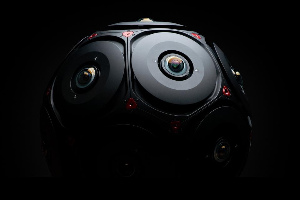 Imagem de Facebook revela visual e mais detalhes de sua câmera 360° feita pela RED no tecmundo