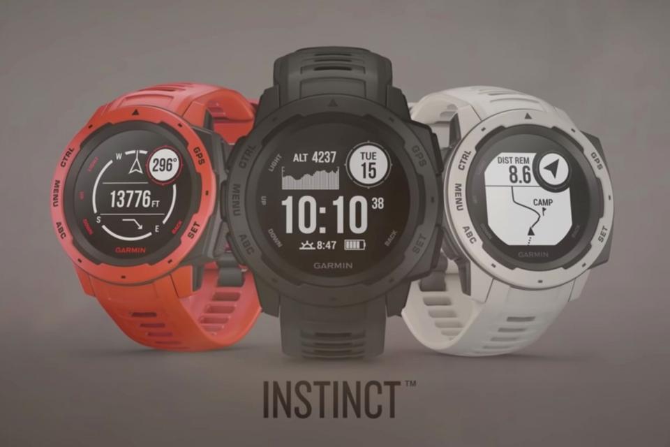 9552ae7431f Garmin anuncia o Instinct