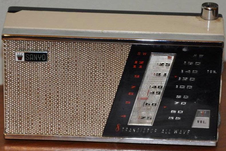 Um rádio.
