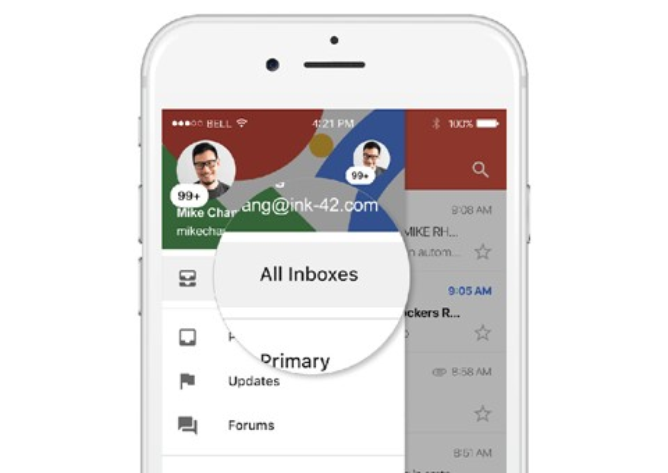 Imagem de Função que agrupa diversas contas de e-mail chega no iOS no tecmundo