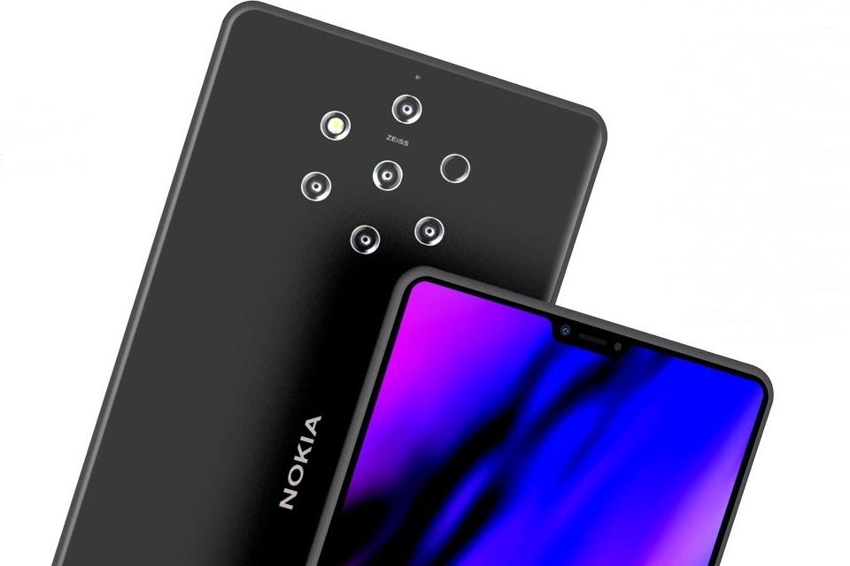 Imagem de Nokia 9 PureView, com 5 câmeras na traseira, tem codinome revelado no tecmundo