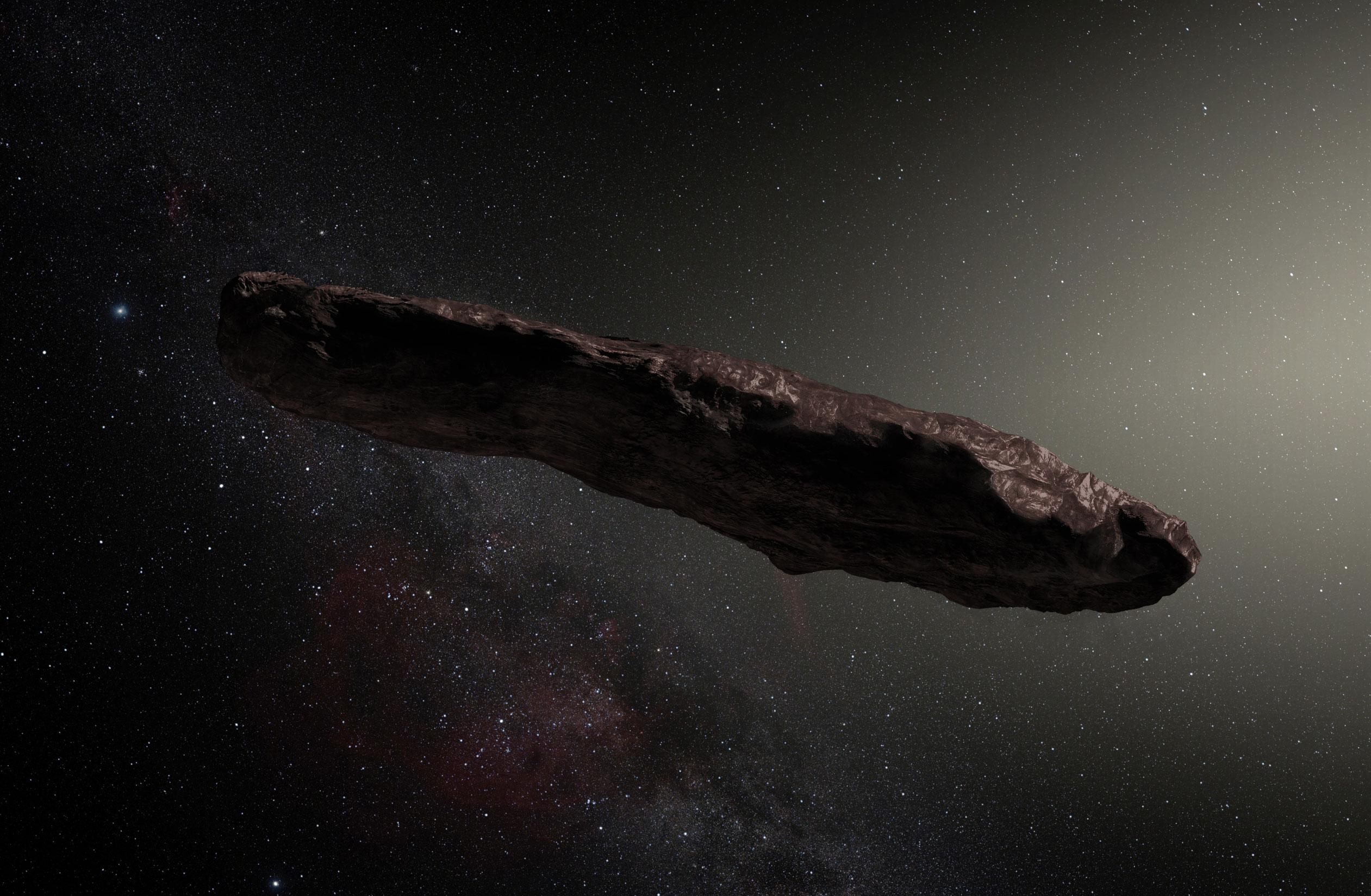 Imagem de Estranho objeto interestelar na forma de charuto pode ser sonda alienígena no tecmundo