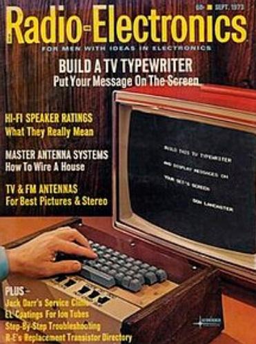 Uma revista.