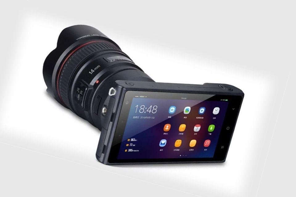 Imagem de Celular compatível com uso de lentes Canon é anunciado por empresa chinesa no tecmundo