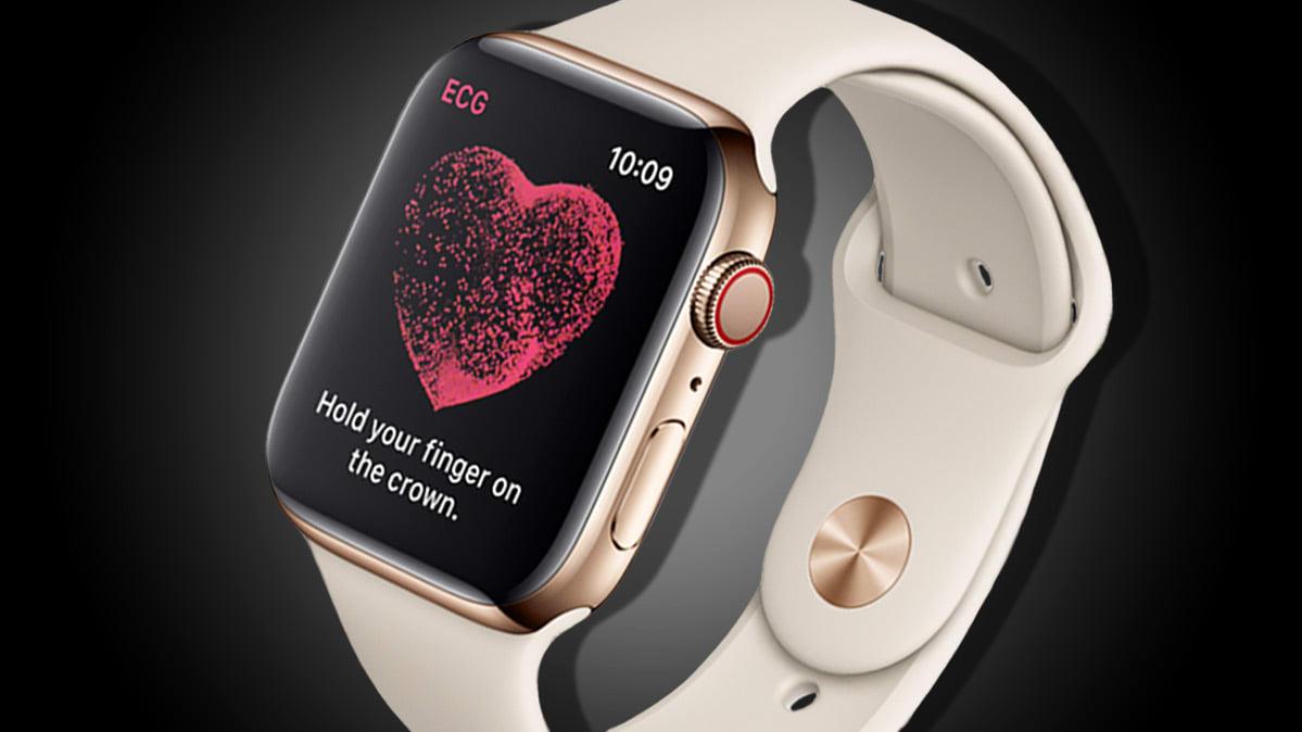 Apple Watch Series 4 coração