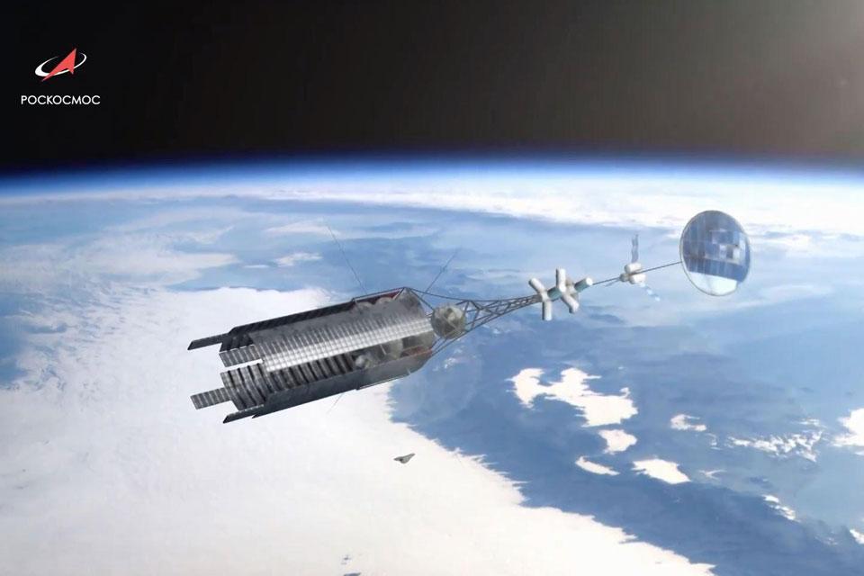 Imagem de Rússia quer competir com SpaceX e chegar à Marte usando foguete nuclear no tecmundo