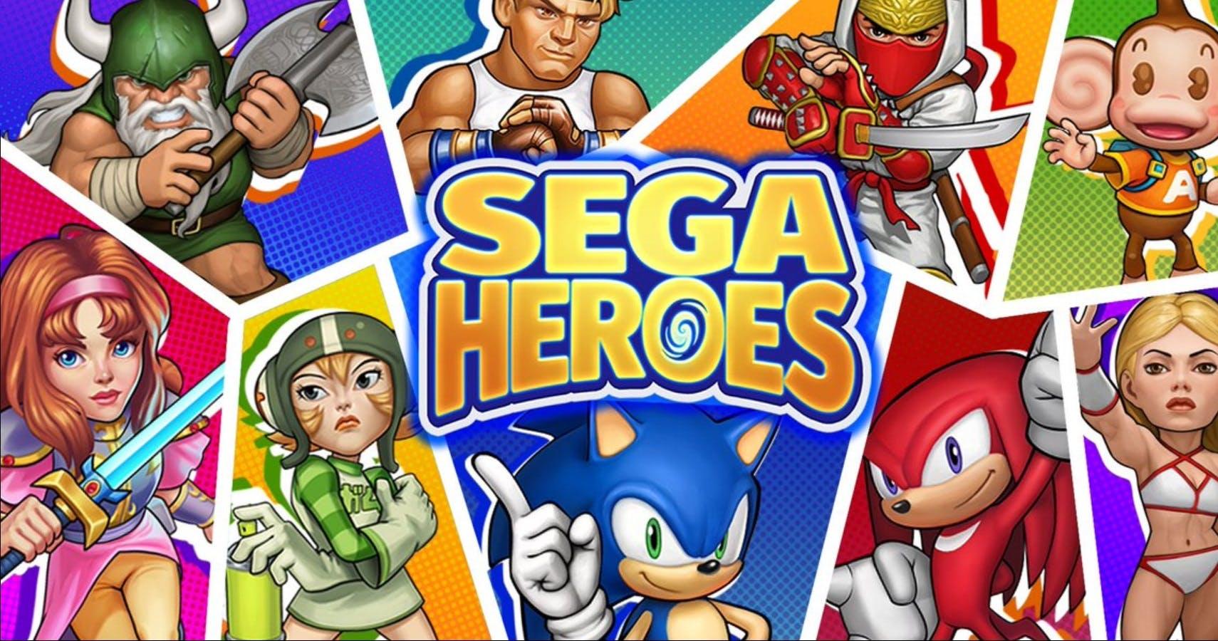 Imagem de SEGA Heroes já está disponível a iOS/Android; veja o trailer de lançamento no tecmundo