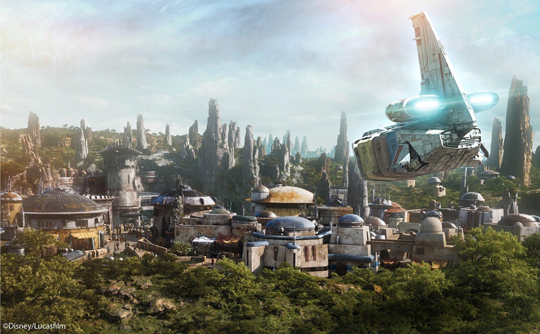 Imagem de Disney mostra trailer com atrações de parque temático só sobre Star Wars no tecmundo