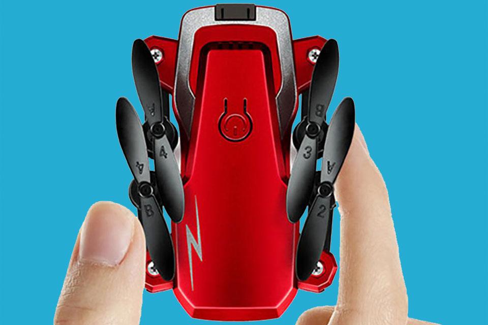 Imagem de Olha a promoção: drone portátil TXD-G1 por menos de R$ 100 já com frete no tecmundo