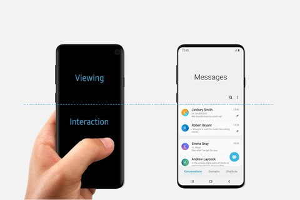 """Imagem de Samsung pode ter revelado """"sem querer"""" o visual do Galaxy S10 no tecmundo"""