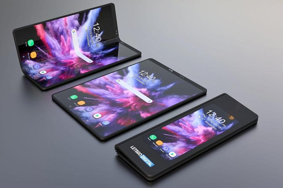 Imagem de Galaxy dobrável da Samsung vai custar o dobro do preço de um iPhone no tecmundo
