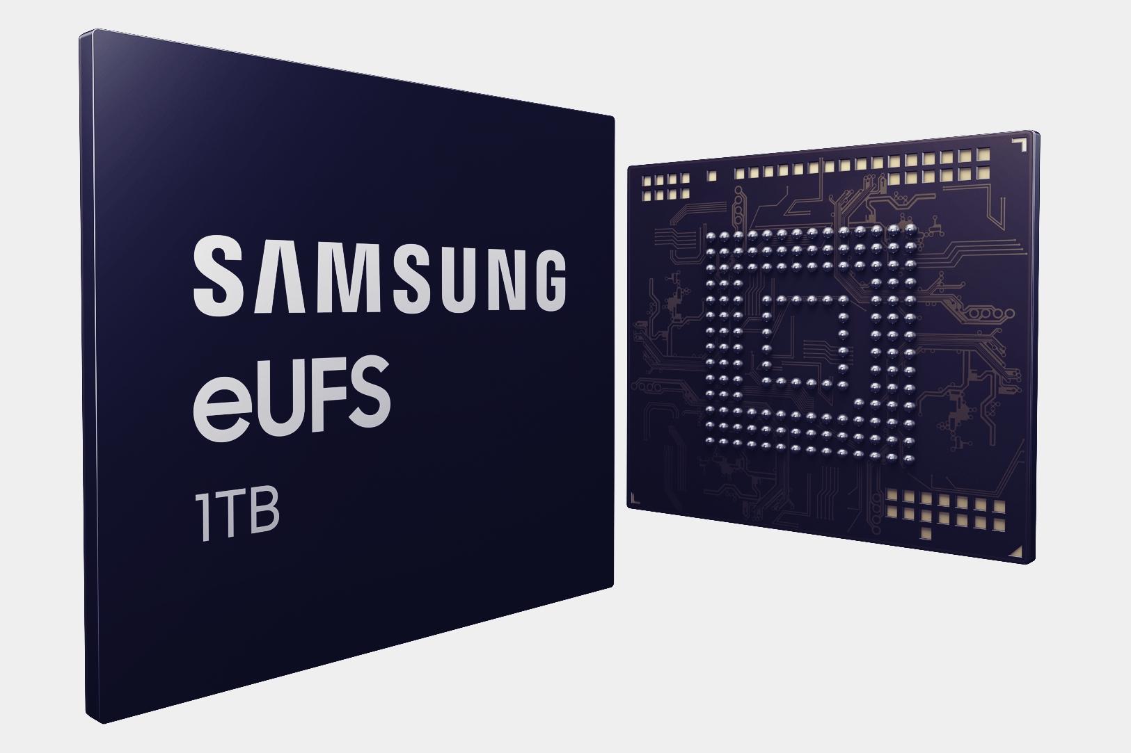 Imagem de Samsung apresenta chip de memória interna de 1 TB para smartphones no tecmundo