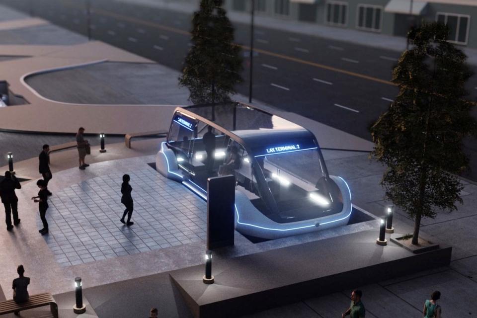 Imagem de Boring Company, de Elon Musk, é aprovada para construir túnel em Las Vegas no tecmundo