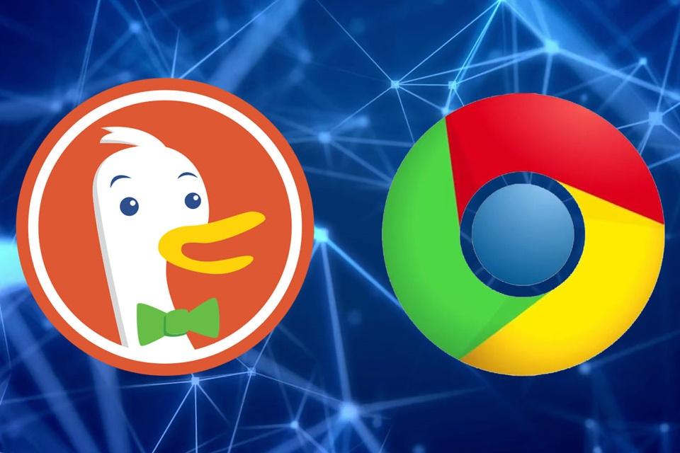 """Imagem de DuckDuckGo, o """"buscador da privacidade"""", entra na lista de opções do Chrome no tecmundo"""