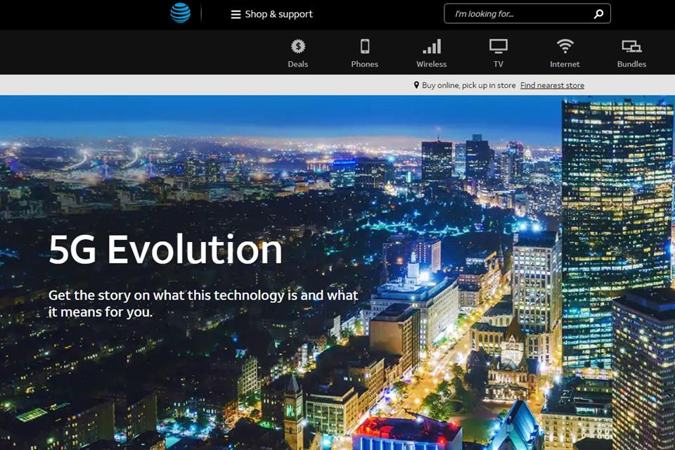 """Imagem de AT&T entrega """"5G E"""" com velocidade menor que o 4G de concorrentes no tecmundo"""