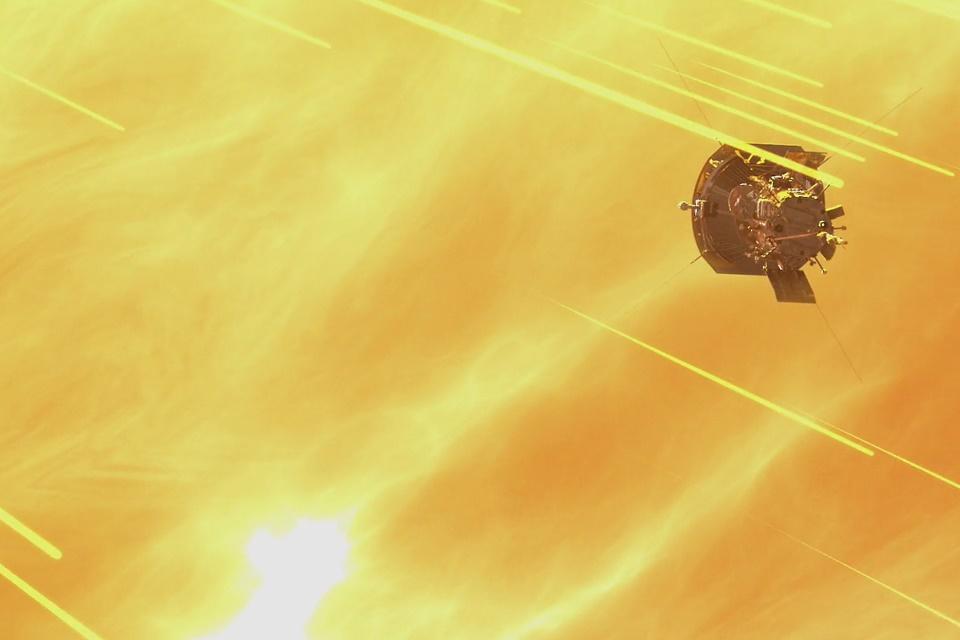 Imagem de Sonda da NASA sobrevive a mais uma viagem próxima ao Sol no tecmundo