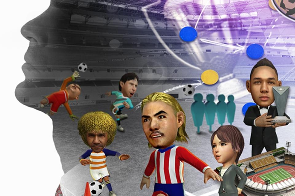 Imagem de Vire técnico e dirigente de futebol com o SEGA Pocket Club Manager no tecmundo