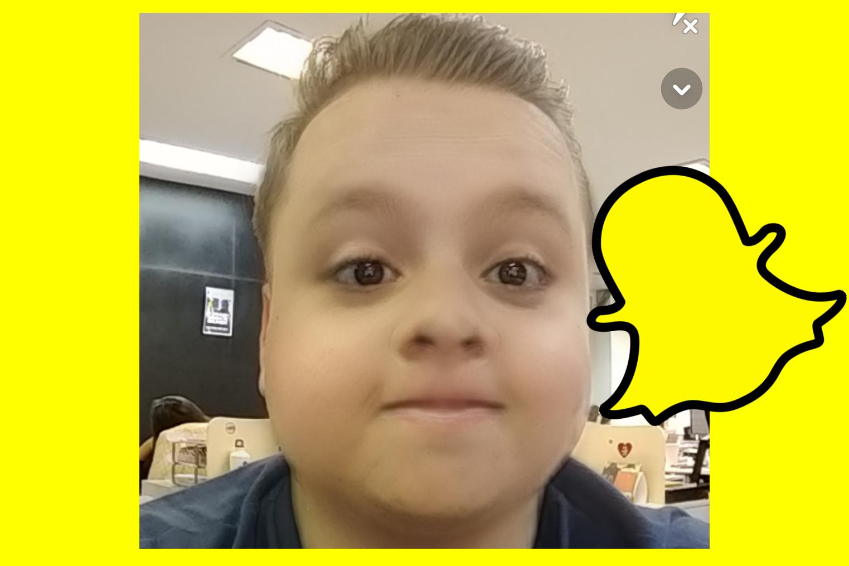 """Imagem de Filtro """"cara de bebê"""" do Snapchat não aparece? Aprenda a desbloquear no tecmundo"""