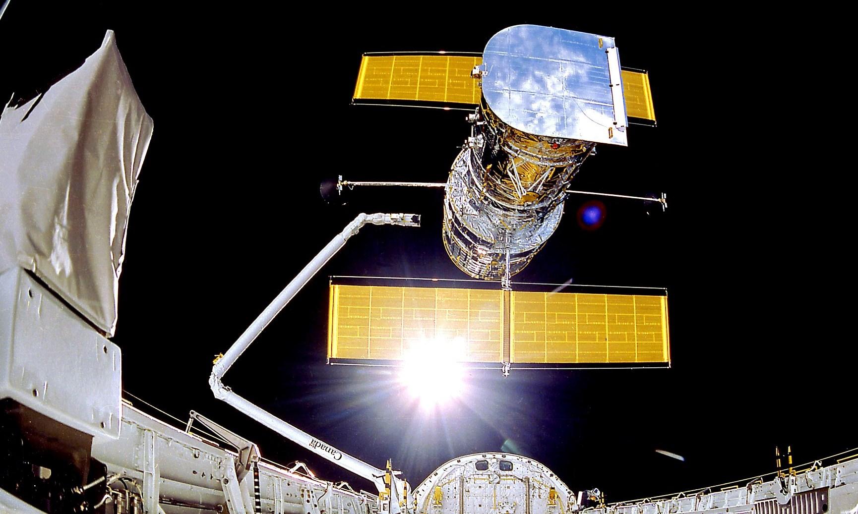Imagem de NASA segue tentando restaurar funções do Telescópio Espacial Hubble no tecmundo
