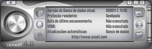 Este é o visual arrojado do Avast.
