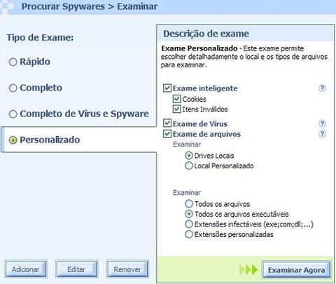 Faça um exame completo para manter o computador imune.