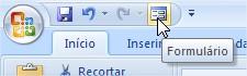 Atalhos personalizados do Excel.