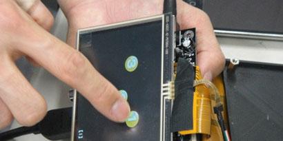Imagem de Tela sensível ao toque envia sensações para as mãos no site TecMundo