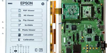 Imagem de E-Ink e Epson desenvolvem papel eletrônico de 300 ppi no site TecMundo
