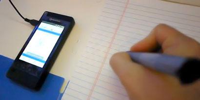 Imagem de Qualcomm demonstra caneta ultrassônica na Computex 2011 no site TecMundo