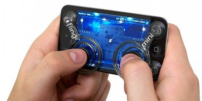 Imagem de Lançado minicontrole analógico para smartphones no site TecMundo