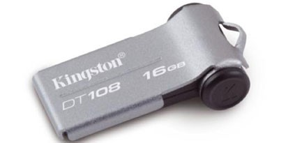 Imagem de Kingston lança pendrive ultrafino e compacto no site TecMundo