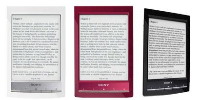 Imagem de Sony anuncia o e-reader mais leve do mundo no site TecMundo