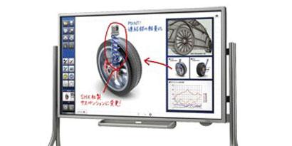 Imagem de Sharp anuncia quadro branco eletrônico multitouch no site TecMundo
