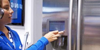 Imagem de Geladeira inteligente da Samsung faz compras e até twitta no site TecMundo