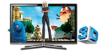 Imagem de Novos Eletrônicos: TV LED 3D Samsung série 9000 no site TecMundo