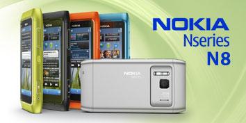 Imagem de Novos eletrônicos: Nokia N8 no site TecMundo