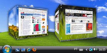 Imagem de Seleção: programas para deixar sua Área de trabalho com efeitos tridimensionais no site TecMundo