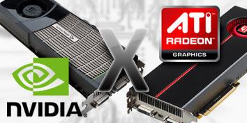 Imagem de NVIDIA versus ATI no site TecMundo