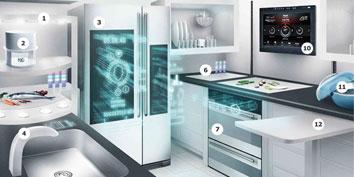 Imagem de Cozinha do futuro da IKEA tem impressora de comida 3D, tecnologia multitoque e muito mais no site TecMundo