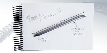 Imagem de Conheça a caneta sem tinta que escreve por toda a vida! no site TecMundo
