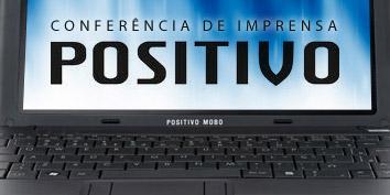 Imagem de Conferência de Imprensa Positivo 2010 no site TecMundo
