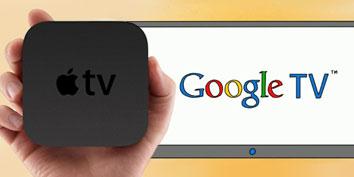 Imagem de O que esperar do Apple TV e Google TV no site TecMundo