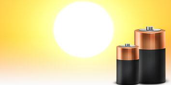 Imagem de Pesquisas indicam que calor do sol pode ser utilizado em baterias recarregáveis no site TecMundo