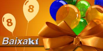 Imagem de O Baixaki comemora seu oitavo aniversário! no site TecMundo