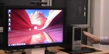 Imagem de Kinect navega pela internet e controla o Windows 7 no site TecMundo