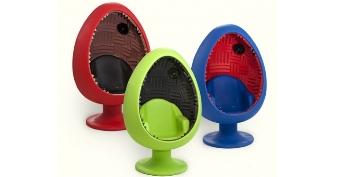 Imagem de Cadeira acústica em formato de ovo está de volta no site TecMundo