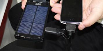 Imagem de Empresa brasileira apresenta carregador solar para gadgets no site TecMundo