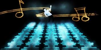 Imagem de Photoshop: Efeito Musical no site TecMundo