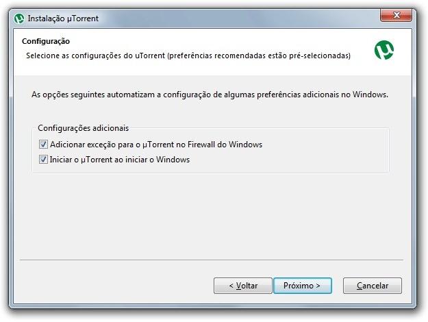 Como usar o utorrent tecmundo configuraes adicionais reheart Images